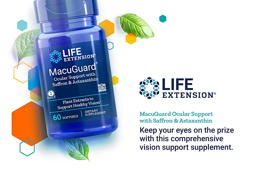 Macuguard, Life Extension, Eye Support