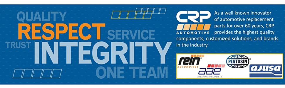 CRP automotive OE OEM replacement quality parts AAE power steering Rein Pentosin fluids Ajusa