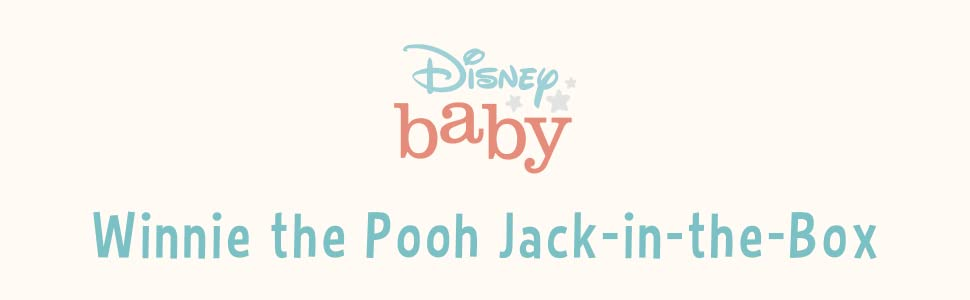 Disney Baby Winnie the Pooh Jack-in-the-box