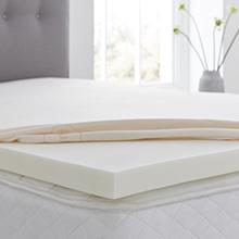 Silentnight impress 5cm depth memory foam mattress topper double reviews