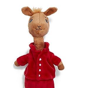 Fabulous Llama Red Pajama Beanbag Stuffed Animal Plush Toy 10 Evergreenethics Interior Chair Design Evergreenethicsorg