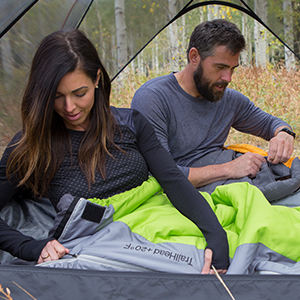 TrailHead Ultralight Sleeping Bag by TETON Sports