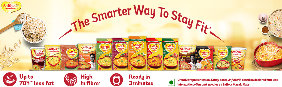 saffola new oats;white oaats;oats with vegetables;vegetable maggiee;noodles;pasta;knorr;kellogs;oat