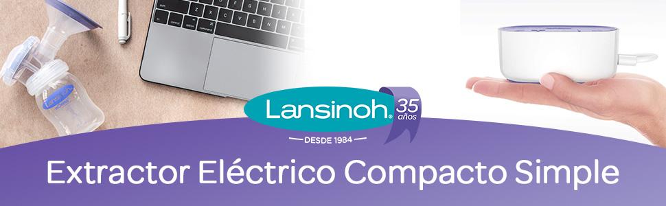 NUEVO Sacaleches Individual Eléctrico Compacto de Lansinoh ...