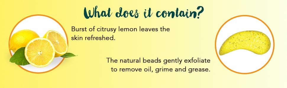 Lemon Facewash