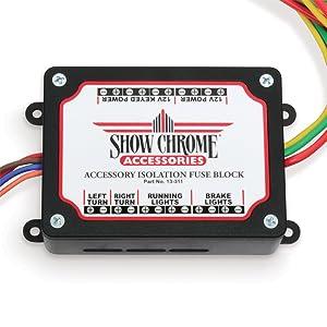 Amazon.com: Show Chrome Accessories 13-311 Electronic Fuse Block Accessory  Lighting: AutomotiveAmazon.com