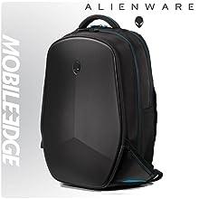 4b2d42b62d Durable high-density nylon exterior and weather-resistant non-slip base.  The Alienware Vindicator Backpack ...
