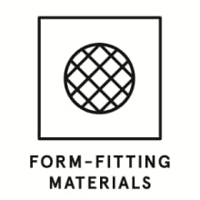 Form-fitting Material