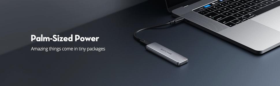 RAVPower Mini External SSD