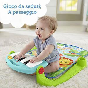 Fisher-Price Palestrina Baby Piano 4 in 1Con quattro modi di giocare
