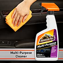 Armor All Premier Car Care Kit - Multi Purpose cleaner, lifts away dirt & debris, leather vinyl, etc