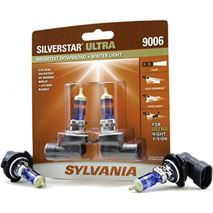 Sylvania automotive silverstar ultra silver star headlight head light bulb lens 9006 9012 H11 9003