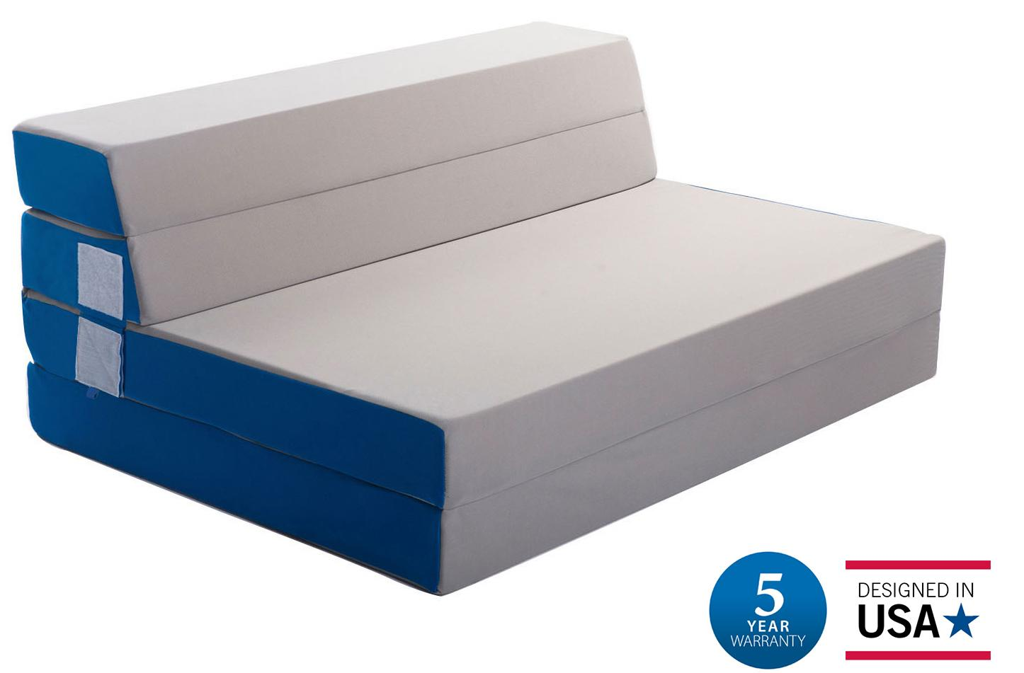 Merax 4 Inch Folding Mattress And Sofa