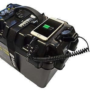 newport vessels smart battery box DC12V charging port