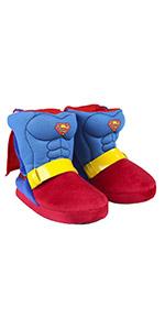 botas de estar por casa niño;botas de estar por casa Superman;botas casa hombre;botas casa niño;