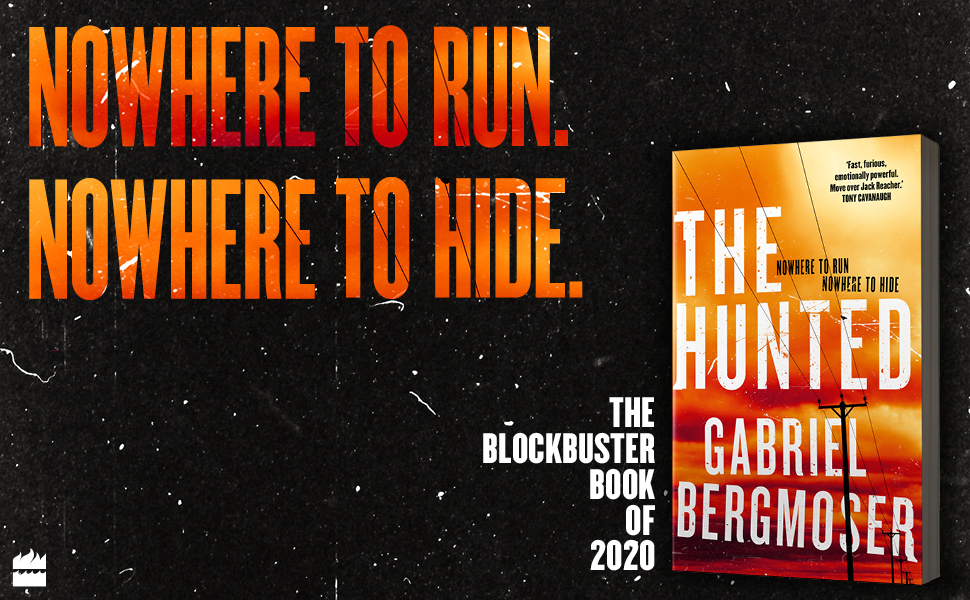hunted, bestseller, thriller, australian, debut fiction