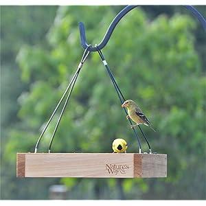 Nature S Way Bird Products Cwf Cedar Platform Tray Bird Feeder