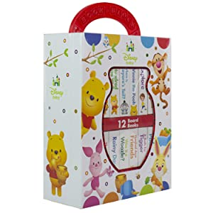 my, first, library, book,block, ,early,learning,year,old,olds,baby,babies,1,0,2,winnie,pooh,tigger