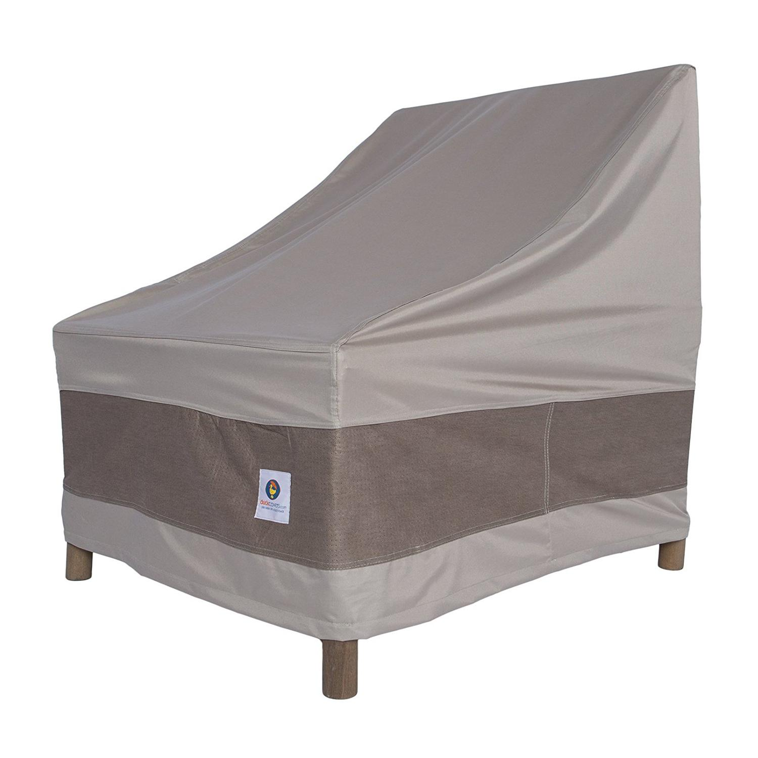 Duck covers elegant patio sofa cover 87quot w x 37quot d x 35 for Patio furniture covers amazon ca