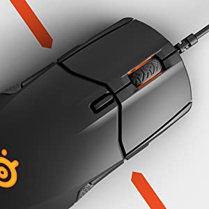 SteelSeries Sensei 310 ratón para juegos óptico