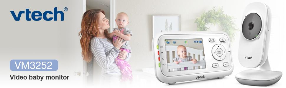 VTech VM3252 Video baby monitor