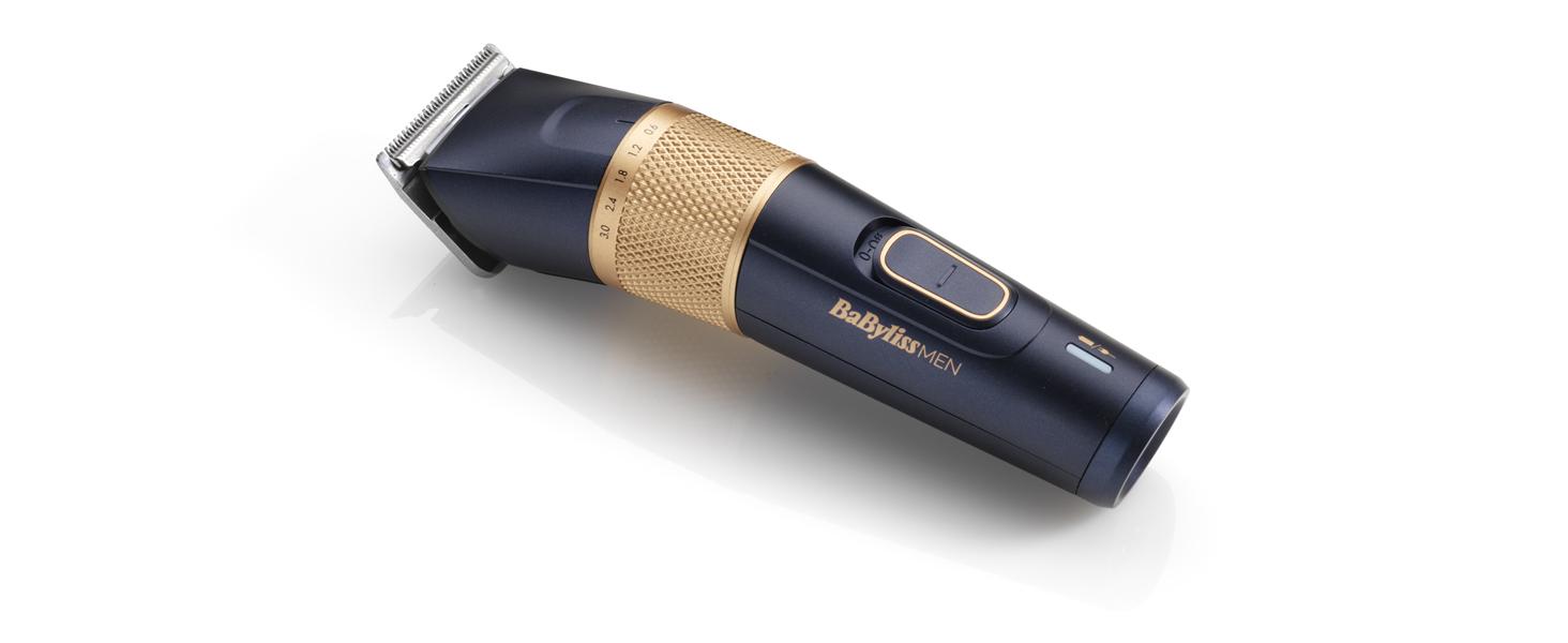 BaByliss MEN E986E Cortapelos Profesional Lithium Power, Cuchillas ...