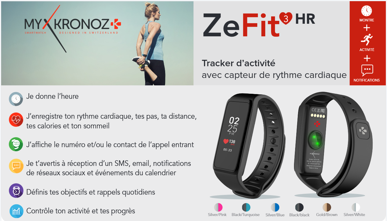 """Résultat de recherche d'images pour """"zefit 3 HR"""""""