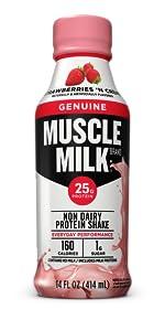 Muscle Milk Genuine Protein Shake, Strawberries 'N Crème