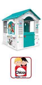 veterinario, niños, imitación, casita, casita jardin, casita con puerta, niños, niñas, infantil,