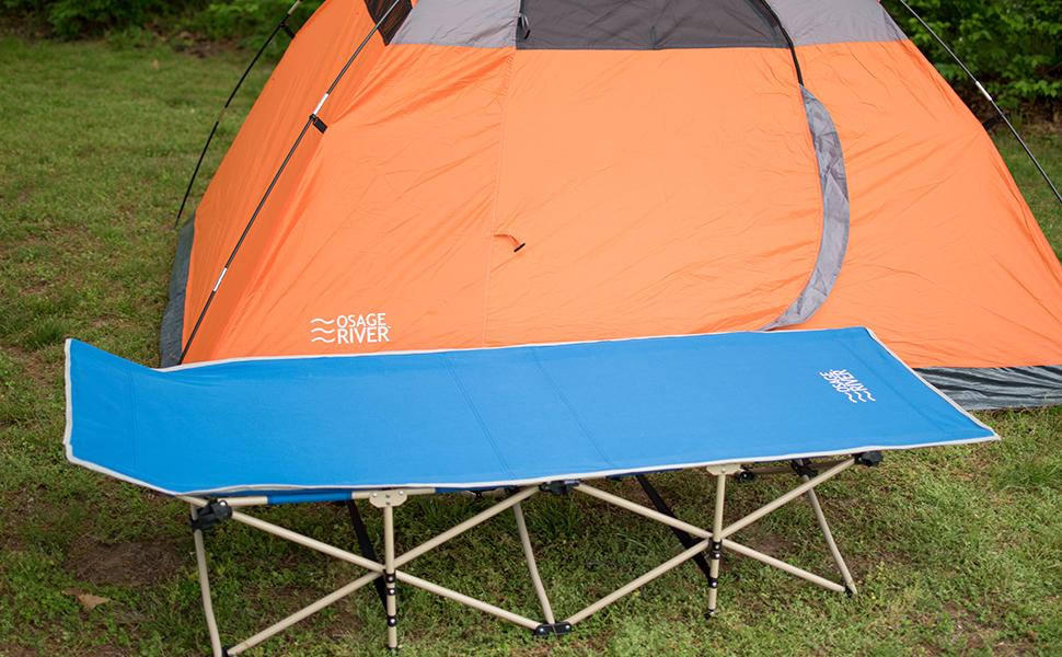 Osage River Folding Camp Cot