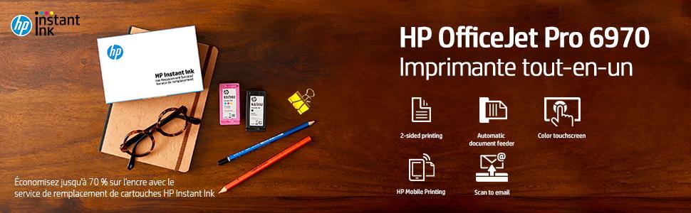 HP Pro 6970 Imprimante Tout-en-Un