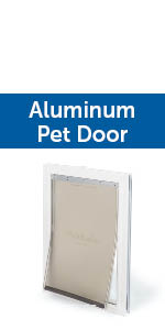 Pet, door, dog, cat, sliding, PetSafe, exterior, insert flap, puppy, large, small, medium, gate play