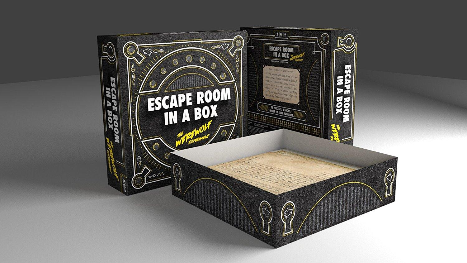 mattel escape room in a box the werewolf experiment toys games. Black Bedroom Furniture Sets. Home Design Ideas
