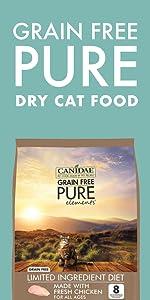 dry cat food grain free limited ingredient