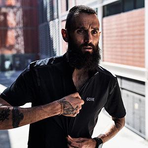 gore running shirt men; gore long sleeve; gore shirt men