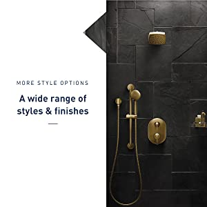 a wide range of styles and finishes