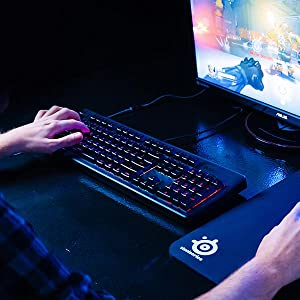 SteelSeries 64666 Apex 150 Gaming Keyboard