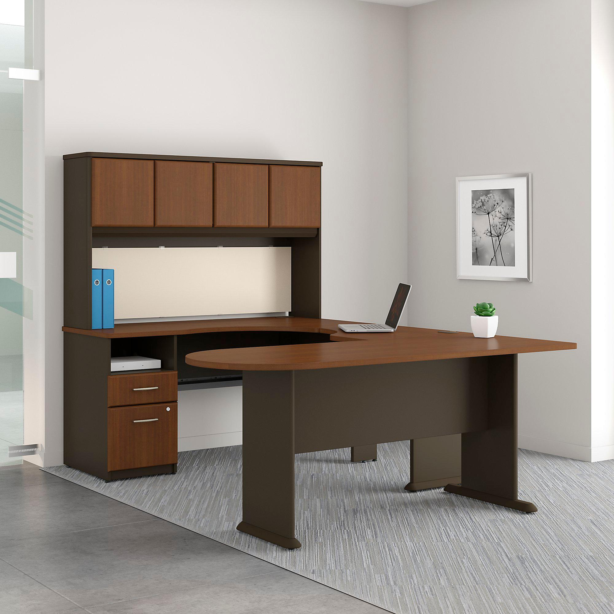 business office in inspirational corner series new furniture desk a amazon bush of natural