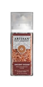 ancient ocean himalayan pink salt coarse grinder grain