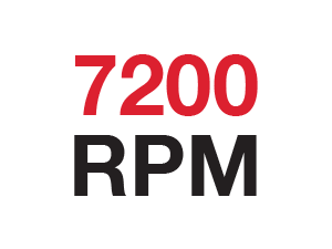 7200-RPM Performance Delivered