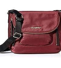Applique Messenger Bag