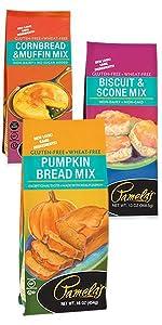 Biscuit amp; Scone, Cornbread amp; Muffin, and Pumpkin Bread Mixes
