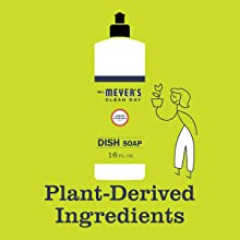 Meyers Lemon Verbena Dish Soap