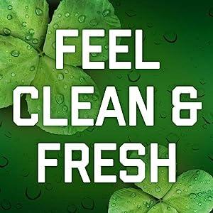 Feel Clean & Fresh