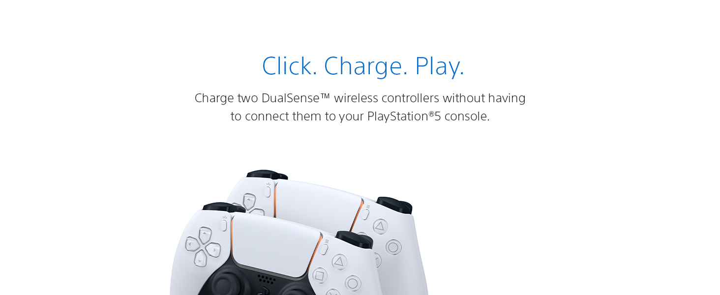 DualSense Charging Station, PlayStation5, PS5