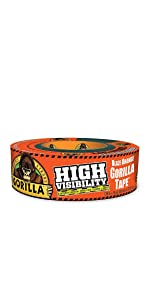 Gorilla High Visibility Blaze Orange Tape