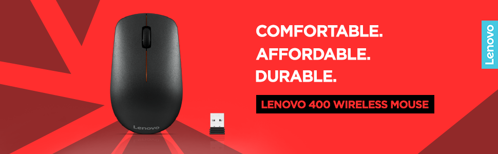 Amazon.in: Buy Lenovo GY50R91293 400 Wireless Mouse (Black) Online at Low Prices in India | Lenovo Reviews & Ratings