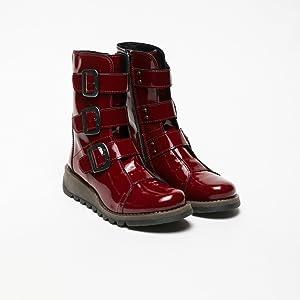 8072c32b19e Fly London Women's Scop110fly Biker Boots: Amazon.co.uk: Shoes & Bags