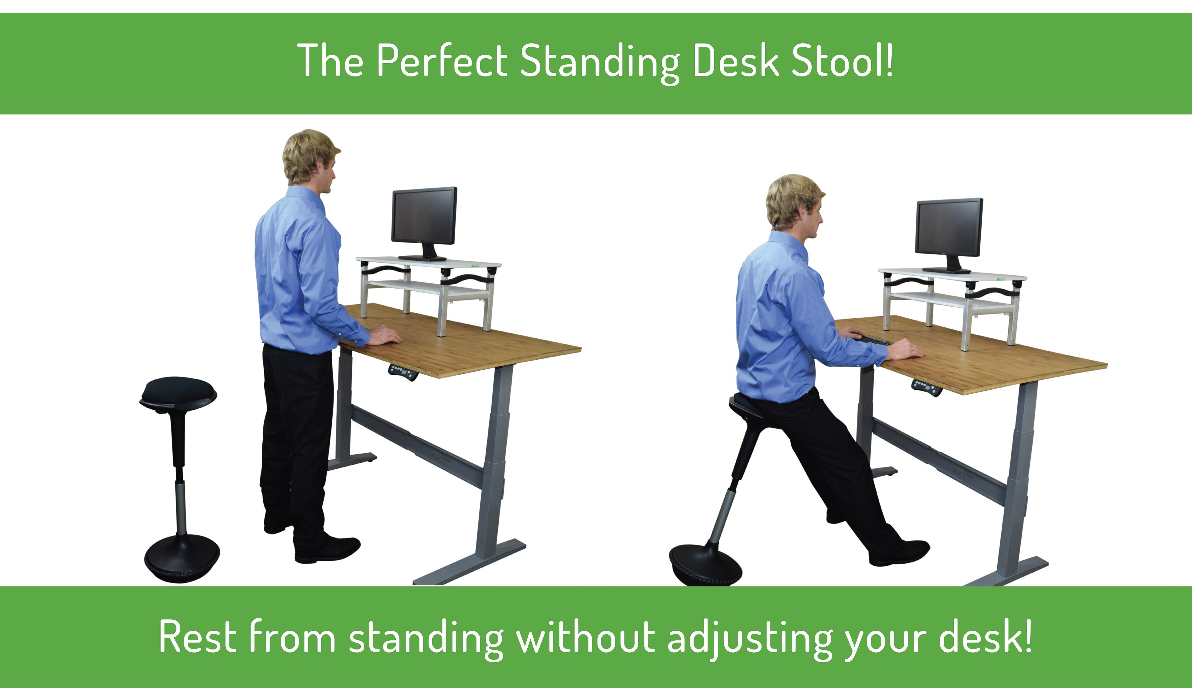 Uncaged Ergonomics Wobble Stool Standing Desk Office And