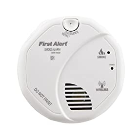 Interconnected Wireless Smoke Alarm with Voice Location